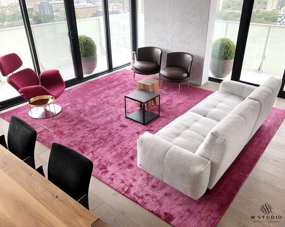 Image in Portfolio Custom Silk Carpet