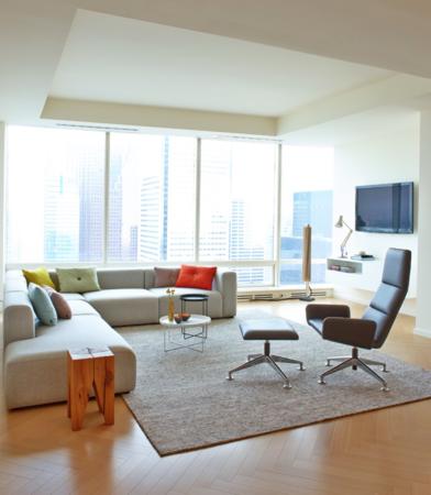 Image in Portfolio Shangri La Condo Living Room